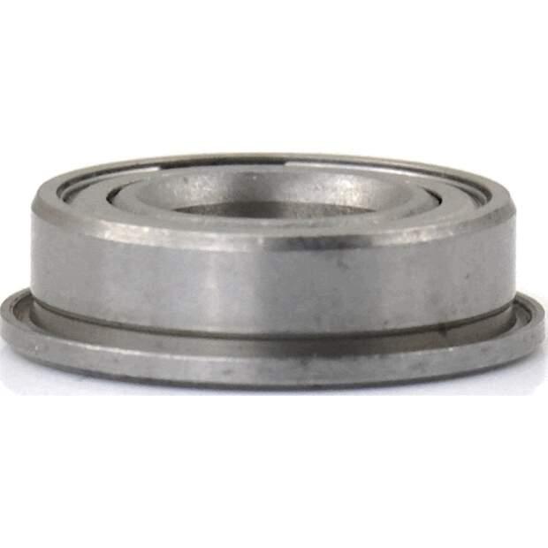 Miniatur Kugellager F688ZZ Ball bearing mit Flansch 8x16x5 mm Flansch 18x1.1 mm vorne