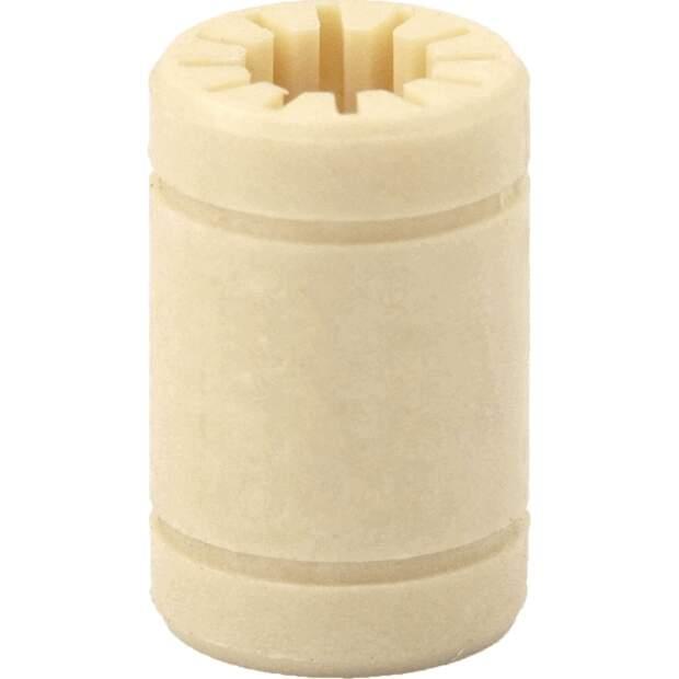 Linear Gleit Lager LM8UU 8 x 15 x 25 mm Kunststoff Gleitlager wartungsfrei vorne