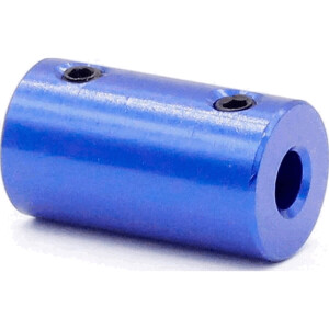 Starre Wellen Kupplung Motorkupplung 5 mm auf 8 mm Aluminium 14 x 25mm seite