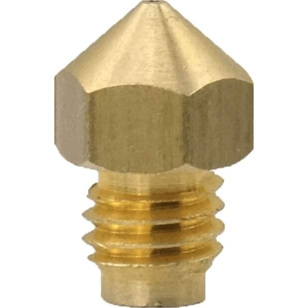 M5 Nozzle neue Version M5 thread nozzle 1.75mm-0.4mm vorne