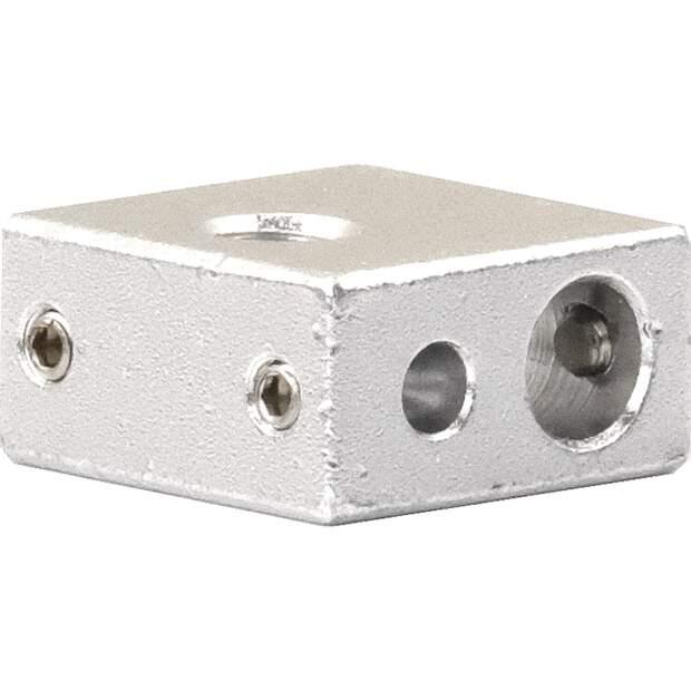 Heizblock Makerbot extruder heating block passend für Kupfereinsatz 2.Generation vorne