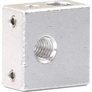 Heizblock Makerbot extruder heating block passend für Kupfereinsatz 2.Generation seite