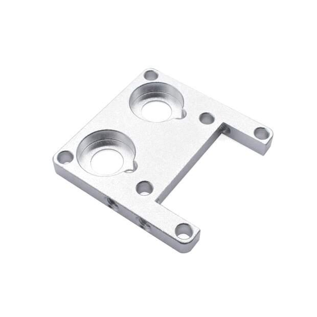 Ultimaker 2 Kühlkörper UM2 double-head extruder heat sink mounting bracket - lower piece vorne