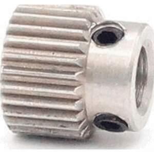 MK7 / MK8 Feederrad für 1,75 - 3mm Filament 26 Zähne Stahl Drive Gear Extruder seite