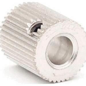 MK7 / MK8 Feederrad für 1,75 - 3mm Filament 38 Zähne Stahl Drive Gear Extruder
