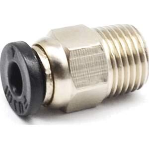 Push-Fit PTFE Bowden-Kupplung PC4-R1/8 Zoll 3D Drucker 4mm Stahl seite