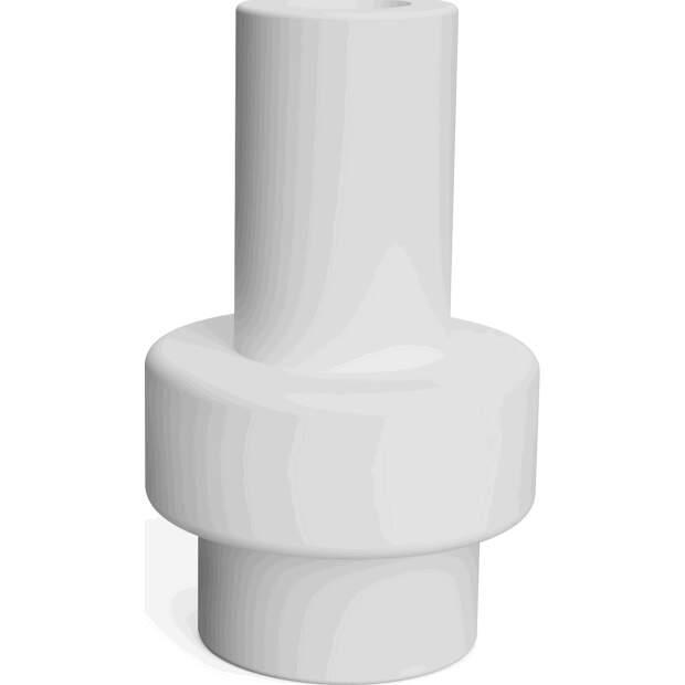 Teflon Coupler für 3.00mm Filament passend für Ultimaker 2 Ultimaker 2+ extended vorne