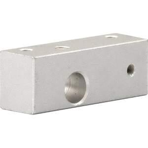 Extruder Block für Makerbot Single Extruder MK8 half size CTC seite