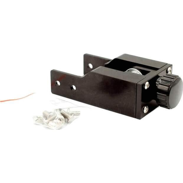 CR-10 Y Idler Riemenspanner einstellbar aluminium gegen layer shifting schwarz vorne