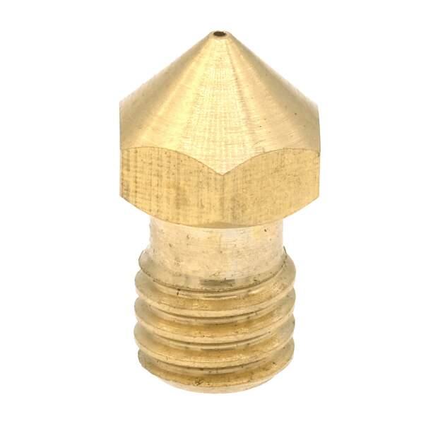 Düse aus Messing in 0.4mm für 3.00mm Filament  für Ultimaker 2+ Olsson - Made in Germany vorne